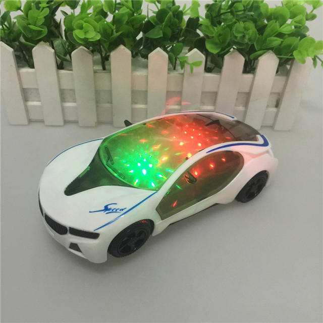 3d Flash Licht Musik Elektrische Bmw Auto Modell Cartoon Auto Kinder