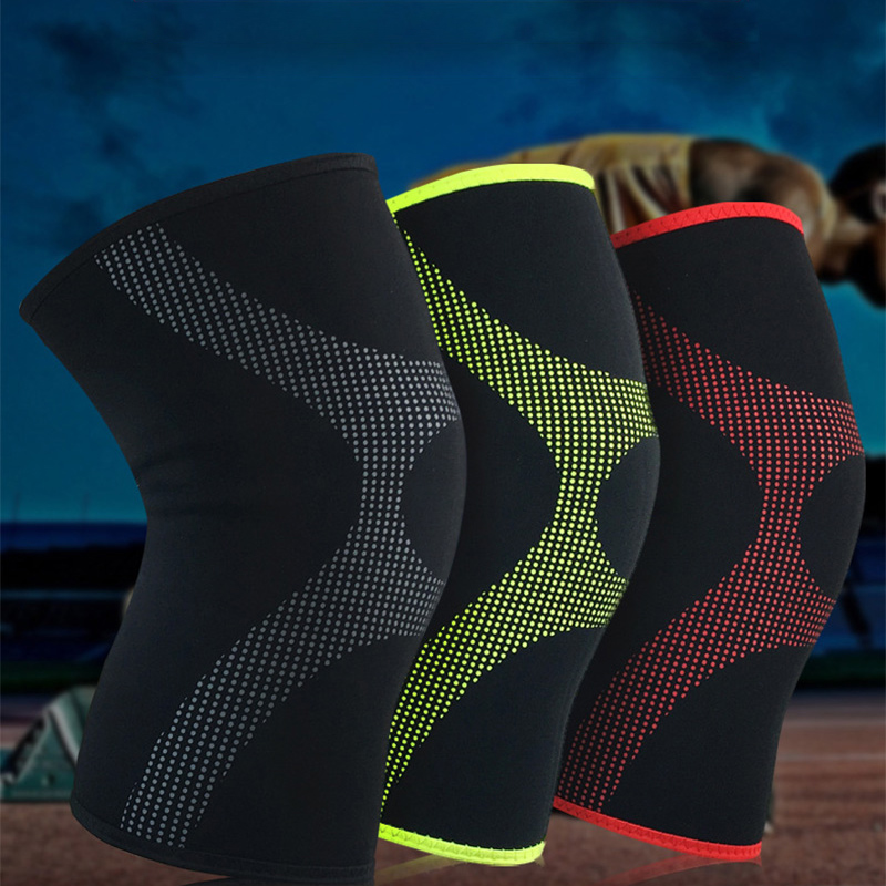 EU Knee Brace Support Sport Pad for Running Knee Pads Volleyball 1Pc Adult Men Elastic Basketball Safety Soccer Knee Protector
