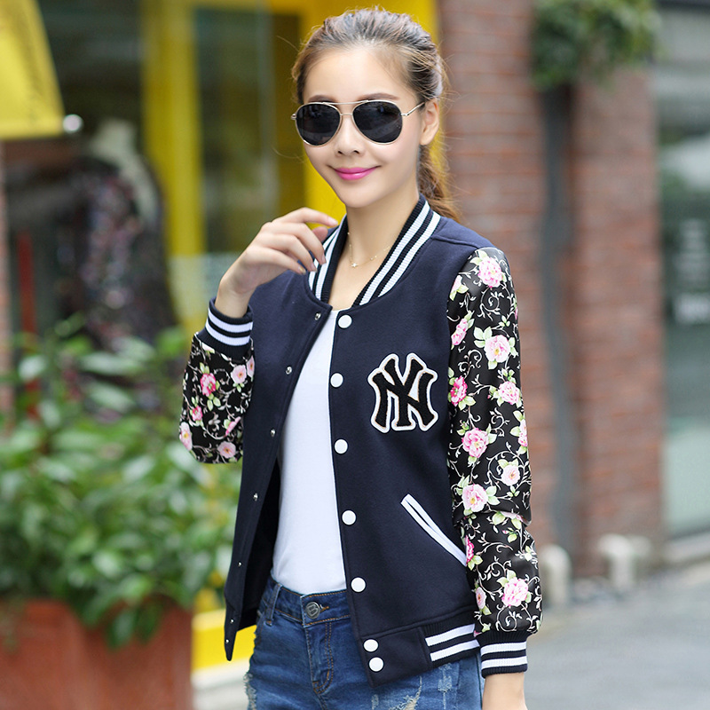 Aliexpress.com : Buy 2015 NEW Spring Coat Baseball Jacket Women ...