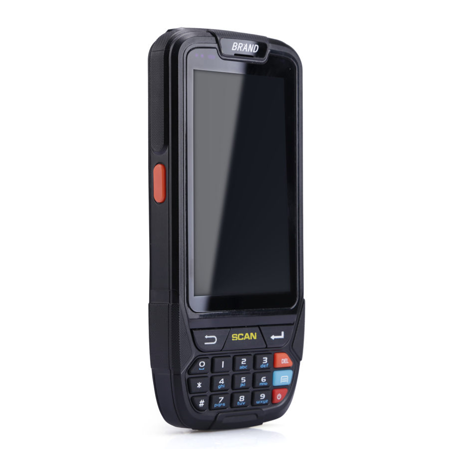 1d Barcode Scanner Handheld Computer in Android 7.0 scanner gps barcode with Wifi 4G Sim Card USB connector