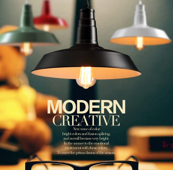 Nordic Loft Style Edison Industrial Droplight Simple Vintage Pendant Lamp Fixtures For Dining Room Hanging Light Home Lighting