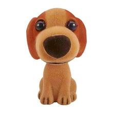 Car Ornament Shaking Doll Head Toy Dogs Automobile Interior Nodding Dog