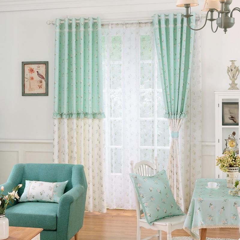 cafe cortinas blackout cortinas de cortinas cortinas cortinas del saln dormitorio rstico flores de tela de