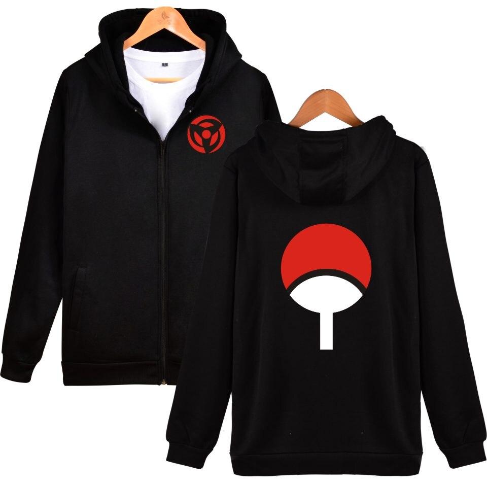 BTS Naruto Klassischen Japanischen Cartoon Hoodie Sweatshirt männer Schwarz Anime Hoodie männer Naruto Uchiha Sharingan Kleidung