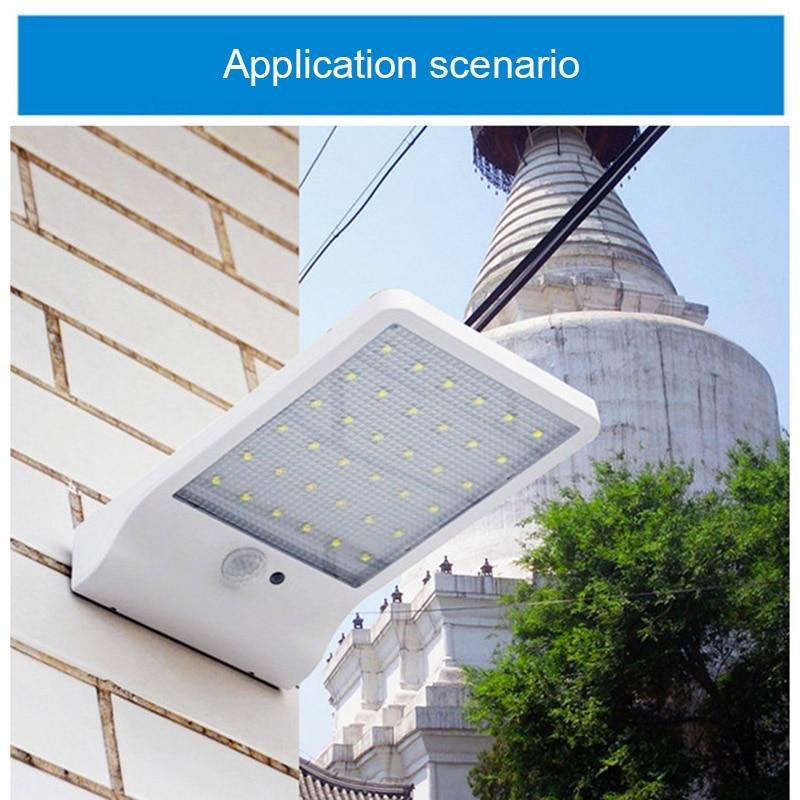 36/48 LED Solar Powered Motion Sensor Security Lamp Waterproof IP65 Outdoor Garden Light MJJ88