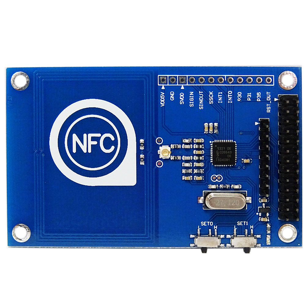 Hi-Q!13.56MHz PN532 Precise NFC Module  Read And Write For Arduino /Raspberry Pi .