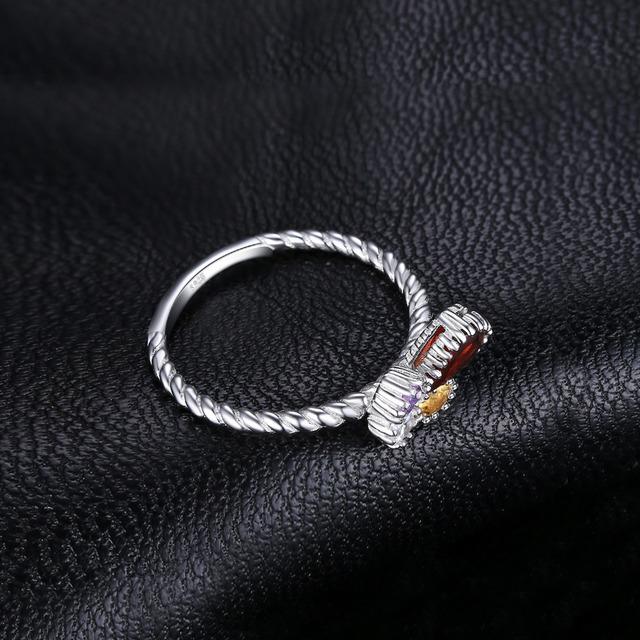 Milgrain Playful Butterfly Ring