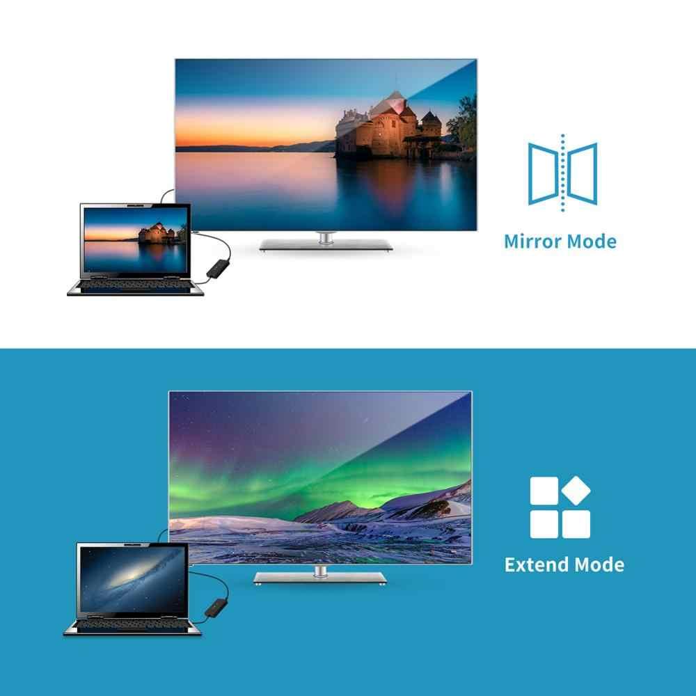 Tampilan Port DP untuk HDMI Splitter DVI Aku 24 5 Adaptor Vga Display Port 3.5 Mm Audio AUX Kabel Optik DVI-I converter Thunderbolt 3