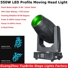 Professional Lyre LED 550W Moving Head Light Beam Spot Wash Framing 4IN1 Moving Head For Stage Wedding DJ Light Nightclub Light