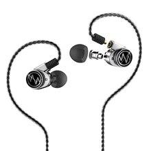 Nueva Macaw GT600s Híbrido En El Auricular Del Oído DD + BA HiFi DJ Correr Deporte Auricular Auriculares Para El Envío Libre