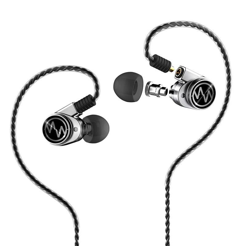 New Macaw GT600s Hybrid In Ear Earphone DD+BA HiFi DJ Running Sport Earphone Headset For Free Shipping
