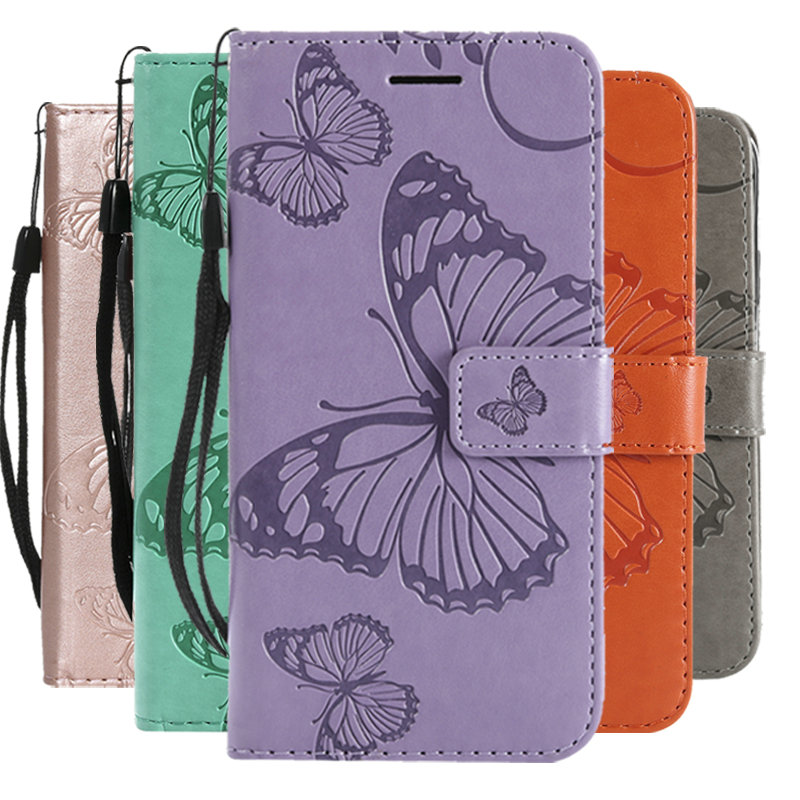5.5 Huawei Honor 5A Play Case Flip Cover 3D Butterfly Leather Wallet for Funda Huawei Honor 5A Play Case 360 Full Protective