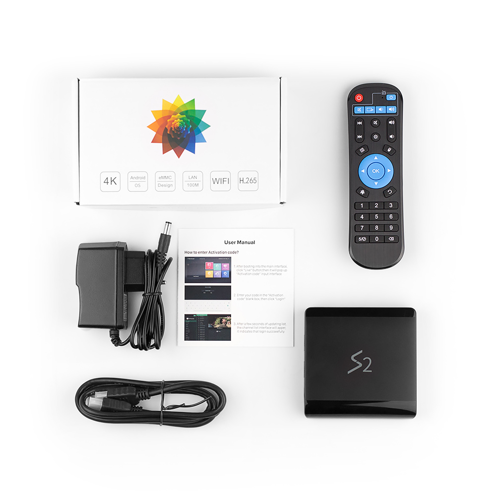 Image 5 - Leadcool S2 Android 8.1 Tv Box 4K IPTV France Subscription RK3229 1GB 8GB SUBTV 1 Year UK Arabic French Italia Netherlands Ip Tv-in Set-top Boxes from Consumer Electronics