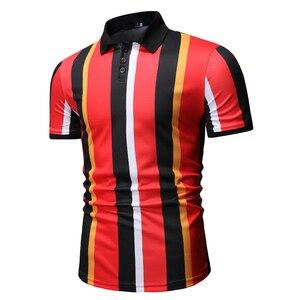 Image 5 - Erkek T Shirtpullover Slim Fit giysileri yeni erkek rahat moda POLO GÖMLEK yaz 2020 için Polo GÖMLEK erkekler