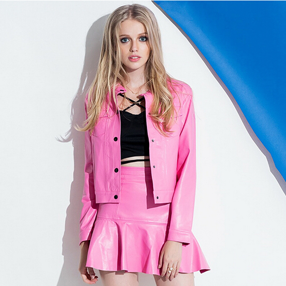 Popular Leather Skirt Suit-Buy Cheap Leather Skirt Suit lots from ...