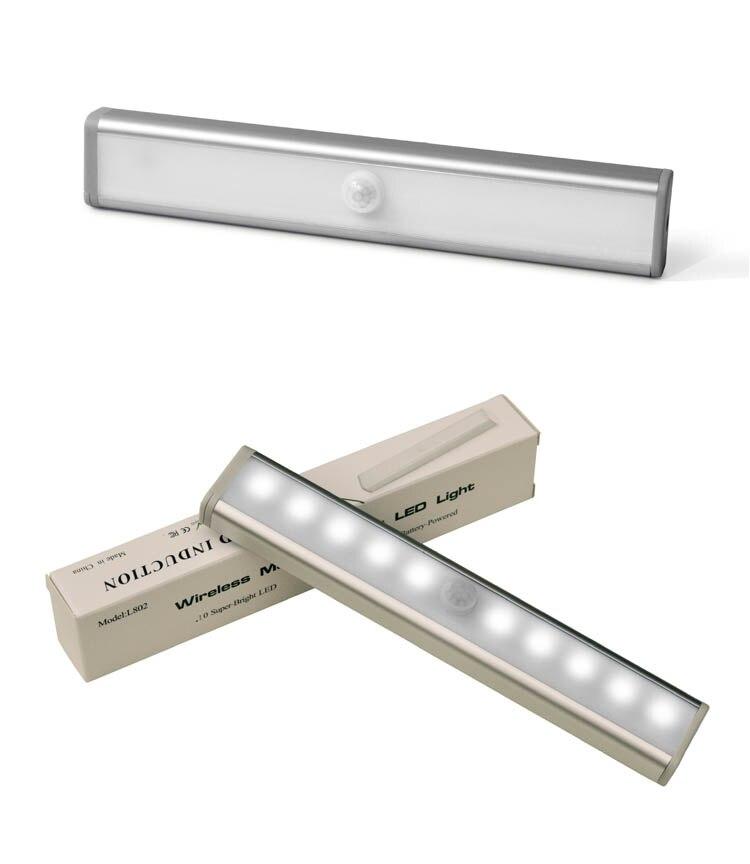 Индукционная лампа для дома, креативная Индукционная лампа для гардероба/лестницы/выставочного зала/коридора/школы, маленький светодиодный ночник, Новинка