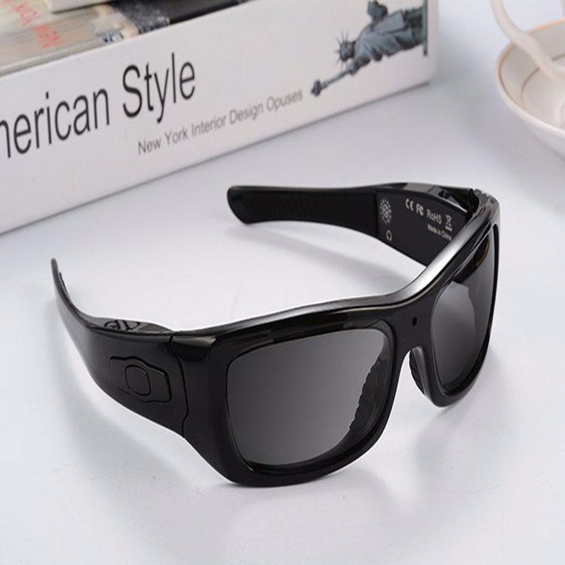 Forest fish Bluetooth lunettes de soleil avec caméra 8 GB carte SD HD 720 P enregistreur vidéo caméra lunettes casque pour IOS Android Smartphone