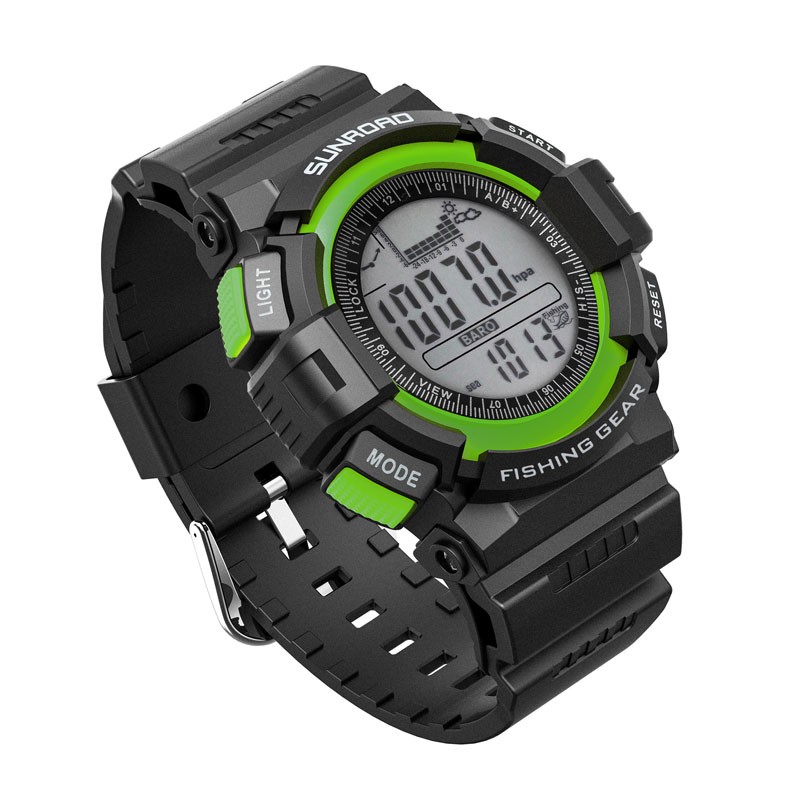 SUNROAD Sports Watch Men FR711A-Multifunction Waterproof Altimeter Compass Stopwatch Barometer  Outdoor LED Display Men Watches