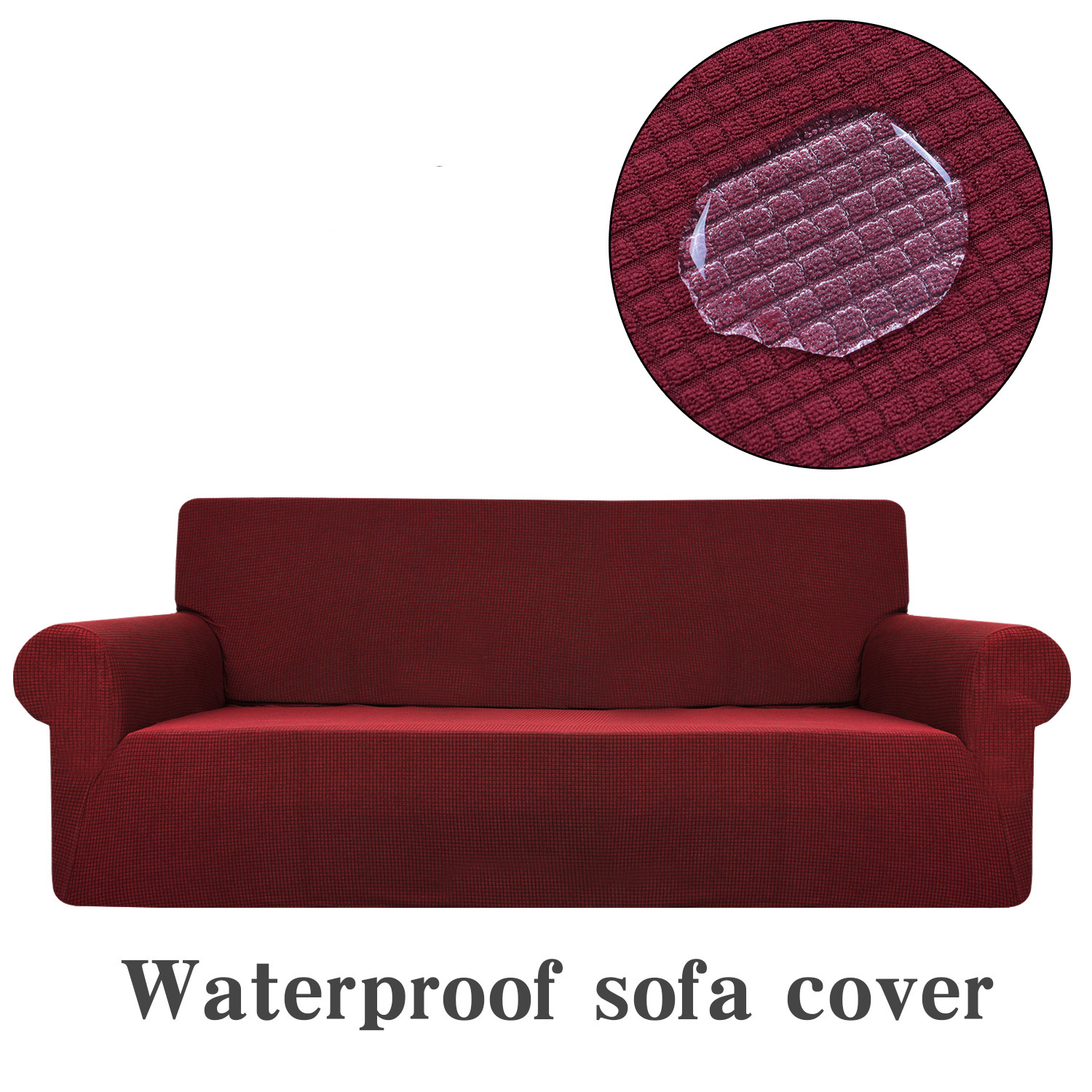 Universal Sofa Cover Waterproof Couch Slipcovers Elastic