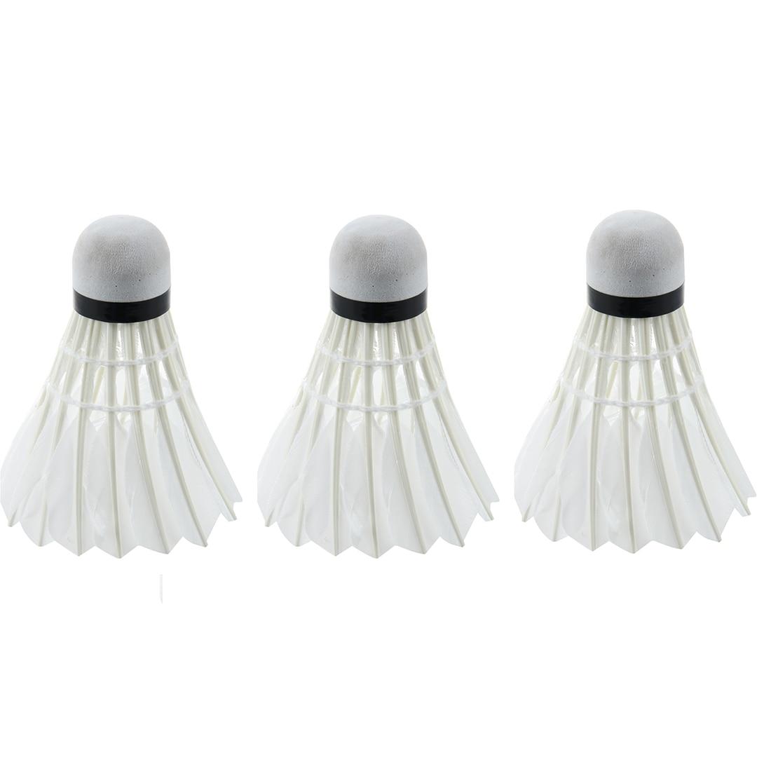 Dark Night LED Badminton Shuttlecock Birdies Lighting (Pack of 3) (blue)