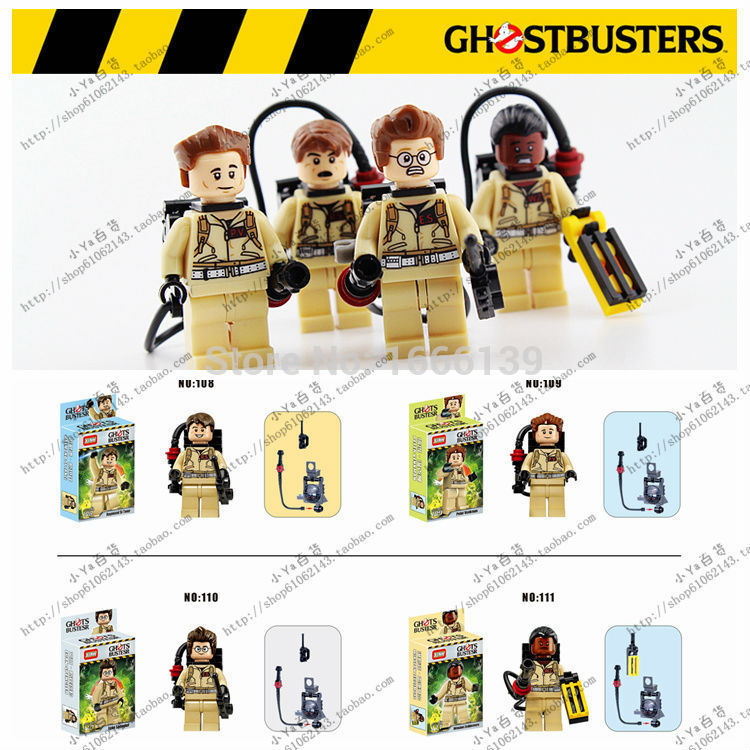 2017 New Baby Toys Ghostbuster DIY Building Blocks Bricks Figures Classic Toys Educational Toys Compatible with legoe building blocks fire story compatible with diy toys creative educational xmas duplo 65pcs classic toys educational baby toy