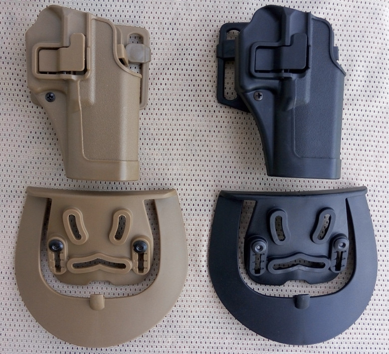 New arrival Tactical military CQC Airsoft Quick Draw Right Hand Gun Holster w/ Paddle Wa ...