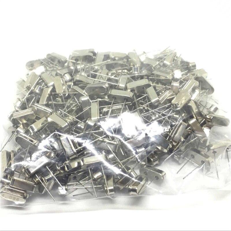 10 pces 4.43 mhz 4.43 oscilador de cristal do ressonador de quartzo passivo HC-49S 4.43 mhz freqüência alta qualidade novo