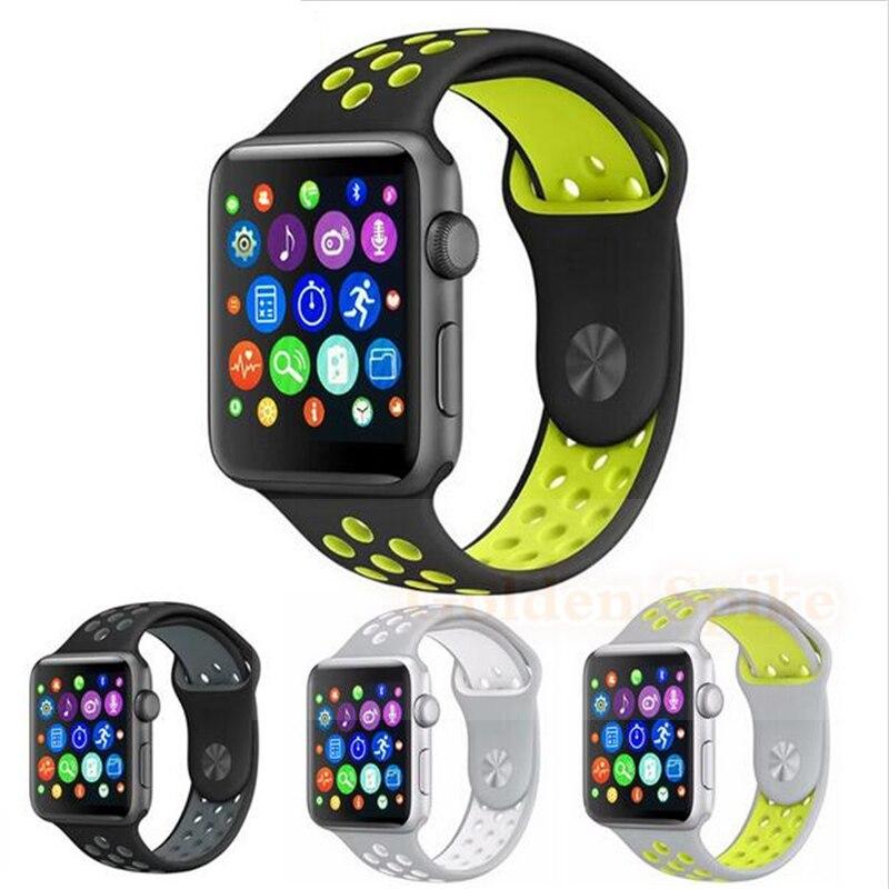 imágenes para Bluetooth smart watch iwo 2 1:1 correa de silicona soporte de actualización remota de la cámara y la música del bluetooth para ios iphone andriod teléfono