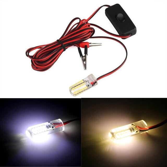 24/48/96 LEDs łodzi rybackich światło przywabiające, trudno byłoby nam powiedzieć, jak to ryb pod wodą lampki nocne 12 V biały/żółty wodoodporna lampa