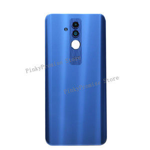 "Image 4 - Original For 6.3"" Huawei Mate 20 Lite Glass Back Battery Cover Case Rear+Glass Lens For Mate 20 Lite Rear Door"