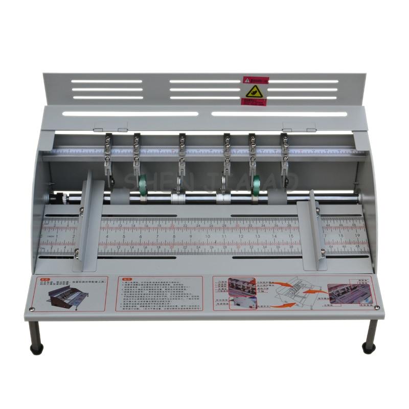 цена на 1PC H500 Electric Paper Creasing Machine Book Cover Creasing Cutting and Creasing Machine 220V