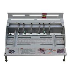 1PC H500 papier elektryczny maszyna do gniecenia okładka książki bigowania cięcia i maszyna do gniecenia 220V
