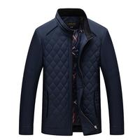 Mens Winter Jacket Middle Aged Men's Fashion And High end Simple Classic Warm Winter Jackets Men Winter Coat Men