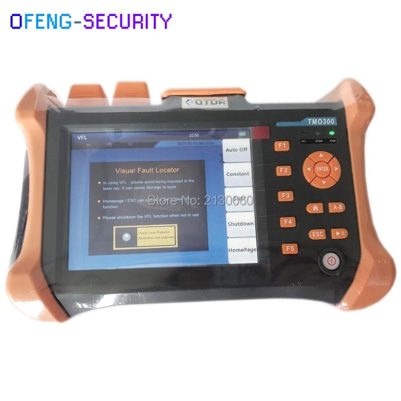 Handheld OTDR TMO-300-SM-B OTDR 1310/1550nm 30/28dB,Integrated VFL, Dominio De Tiempo óptico Reflectometro