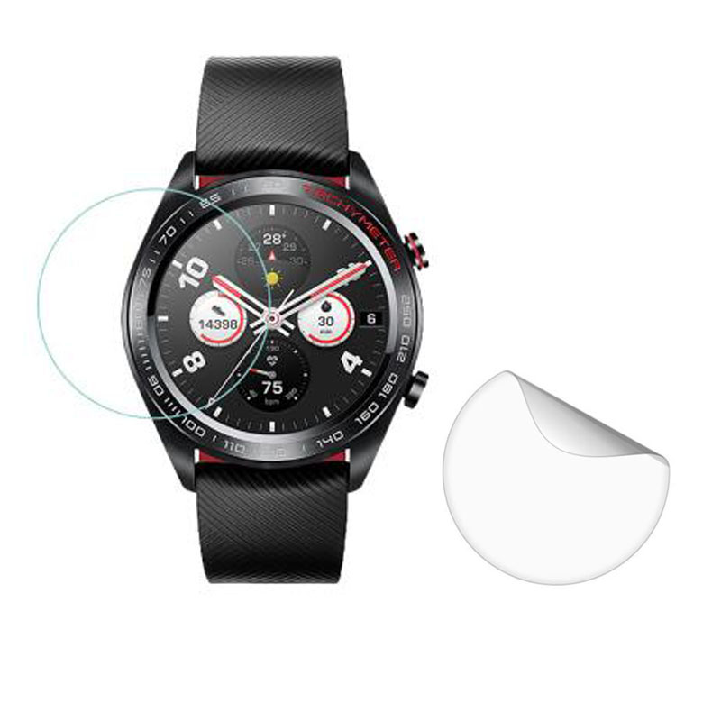 3pcs PET Soft Ultra Clear Protective Film Guard For Huawei Honor Watch Magic Sport Smartwatch Screen Protector Cover (Not Glass)