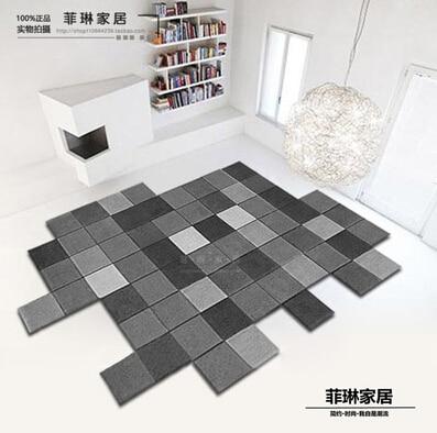 Современные ковры ручной работы для гостиной, спальни, модный креативный журнальный столик, диван, инопланетянин, индивидуальность, тренд, ковер на заказ - Цвет: D