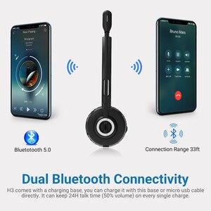 Image 5 - Беспроводная гарнитура Langsdom H3, Bluetooth 5,0, с микрофоном