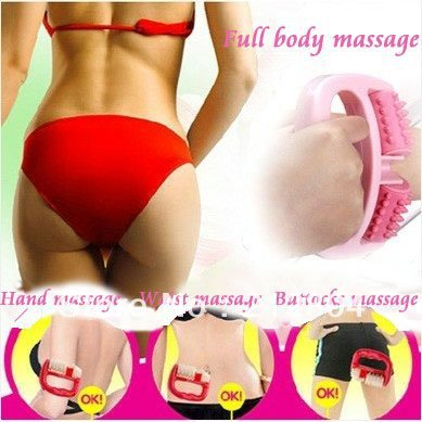 Merry Christmas! Promotions Free Shipping Cell Roller Leg Waist Arm Thigh Slimming Massager Anti Cellulite HB-010