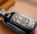 free shipping genuine Leather Remote Case Flip Key Holder Cover For Buick LaCrosse encore envision gl8 Chevy 5BT