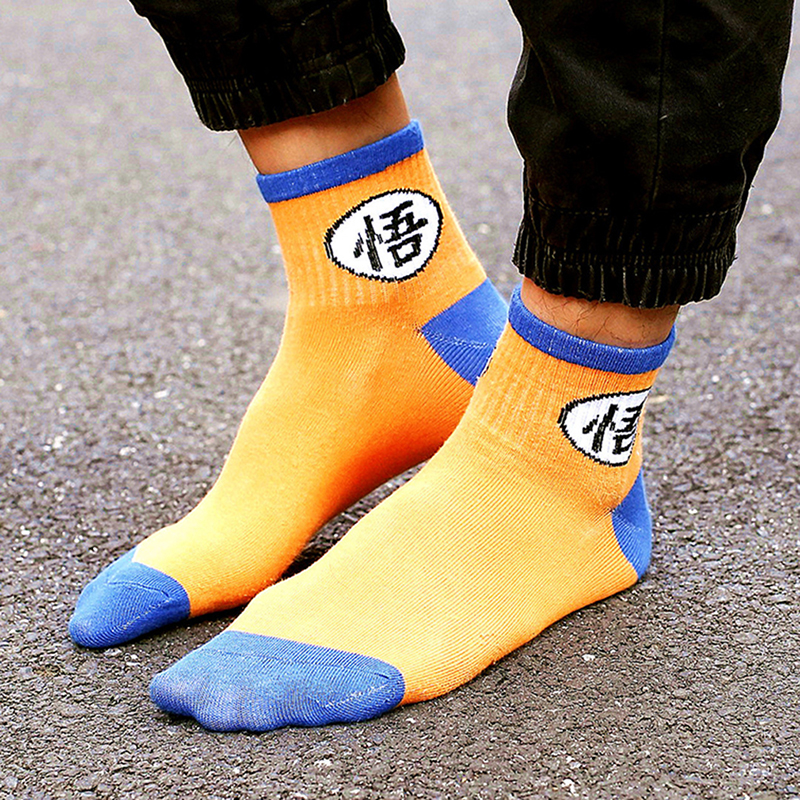 200pair/lot Cartoon Women Men Socks Film Master Tortoise Dumpling Fun Letter print Female Socks Cartoon Mid Tube Sock