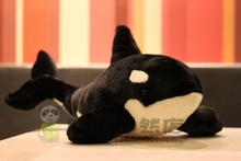 lovely black whale plush toy about 35cm soft doll, baby toy birthday present Xmas gift c851