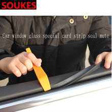 цена на 1M 1 Car Window Seam Gap Sealing Protection Strip For Toyota Corolla Avensis RAV4 Yaris Auris Hilux Prius verso MG 3 ZR Buick