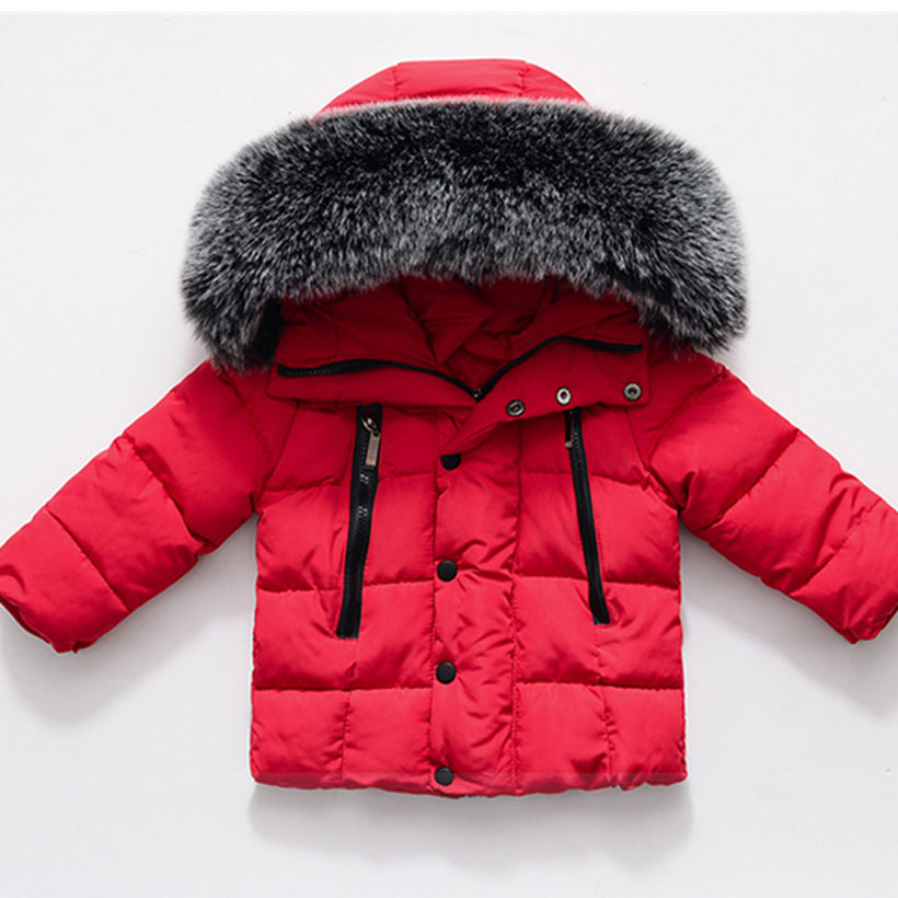 54ae769a5 New Kids Toddler Boys Jacket Coats Thick Warm Down Children ...