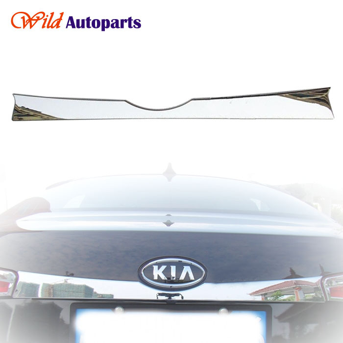 ABS Chrome Rear Door Trunk Lid Cover Trim for Kia...