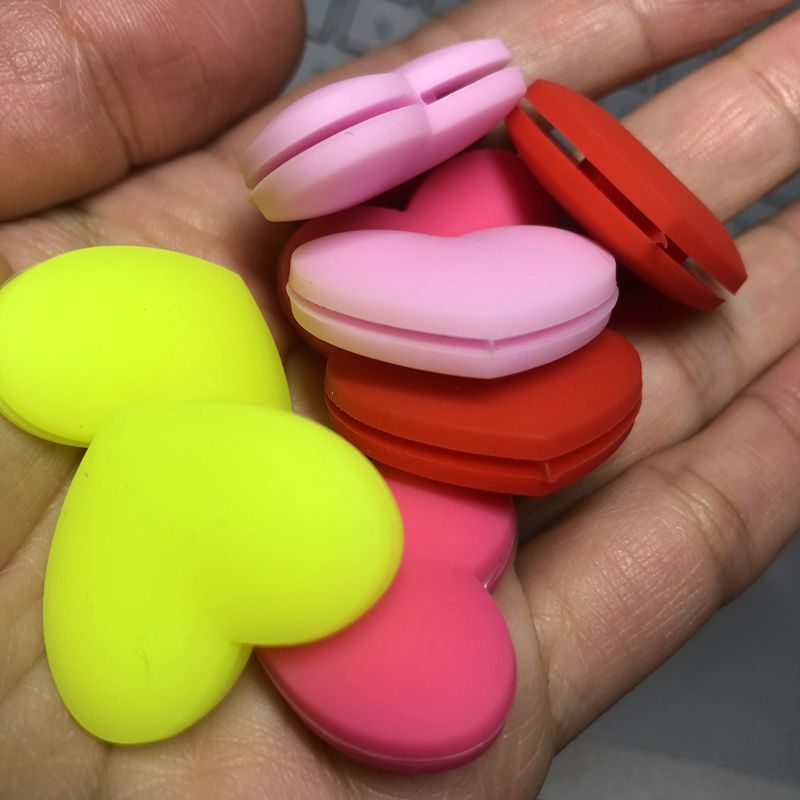 4Pcs Retail Heart Sharapova Silicone Tennis Racket Vibration Dampeners,tennis Shock Absorber