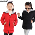 WEONEDREAM Children Outerwear Girls Cotton Hooded Coats Winter Jacket Kids Coat Children's Winter Clothing Girls Down & Parkas