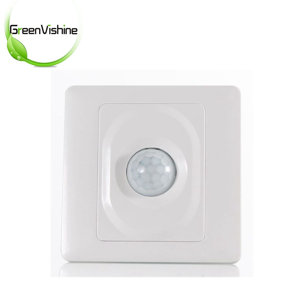 AC 110V Or AC220V PIR Motion Sensor Switch Infrared Wall Mount For LED Light Lamp Control 110v 130v ac on off auto wall mount motion sensor switch automatic pir infrared sensor light switch with light control g25