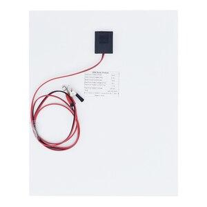 Image 4 - Panel de energía Solar portátil de 20W, celdas, módulo de polímero, cargador de batería, Cable de 1,5 m + controlador de carga Solar de 10A 12V, regulador automático USB