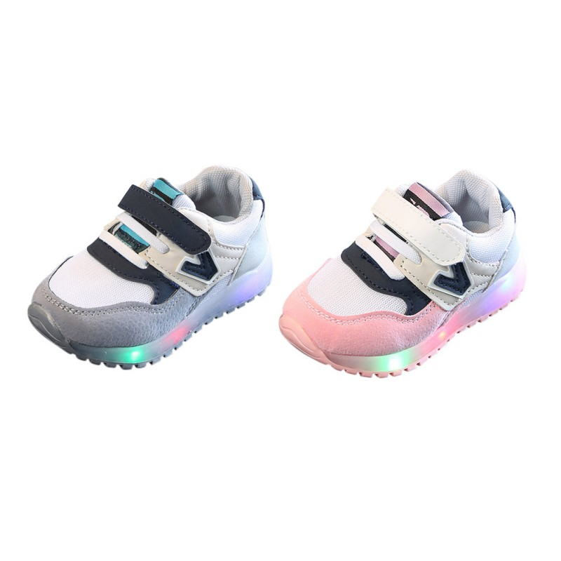 Boys Girls Children Sports Sneakers Babys Toddler Kids Casual Shoes US 5.5-13.5