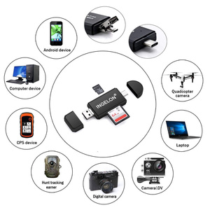 Image 4 - Ingelon Universal Cardreader USB C OTG TF SD Card Reader microsd MMC Android Computer Extension Adapter for Camera SD Reader